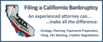 how to file bk in california