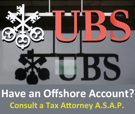 Do you have an offshore bank account?